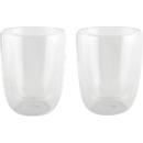 Gläser-Set DrinkLine, 2er-Set, 300 ml, doppelwandig, temperaturbeständig, in Geschenkbox
