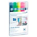 Glasboard-krijtstiften Legamaster 7-118195, diverse kleuren, uitwisbaar, 5 stuks
