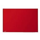 Glasboard Legamaster Colour 7-104754, B 900 x H 1200 mm, rot, magnetisch