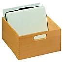 HAN kaartenbak, hout, A5, 1000-1500 kaarten