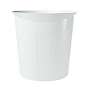 HAN prullenbak Loop, 13 liter, modern design, wit