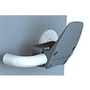 Handfrei-Türöffner Clean4Health, für runde und eckige Griffe mit Ø 16-24 mm, Polyamid, anthrazit