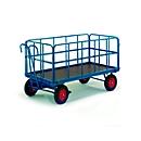 Handpritschenwagen mit Rohrgitterwänden, Lufträder, 1130 x 730 mm