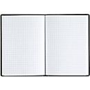 Handwerker-Notizbuch, kariert, 192 Seiten