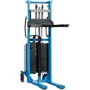 HanseLifter® elektrische breedspoorstapelaar E-SDJ1516BS, hefbereik 80 - 1600 mm