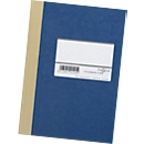 Hartdeckel-Broschüren/Geschäftsbuch, A5, liniert, blau