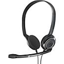 Headset Sennheiser PC 8 USB, kabelgebunden, Stereo, USB 2.0, Noise Cancelling, Lautstärkeregler, schwarz