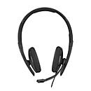 Headset Sennheiser SC 130 USB-C, monaural, biegsamer Arm, In-Line Call Control