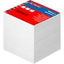 Herlitz Notizklotz, holzfreies Papier, weiß, 900 Blatt