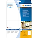 Herma Power-Etiketten Nr. 10909 auf DIN A4-Blättern, 100 Etiketten, 25 Bogen