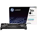 HP 26X Color LaserJet CF226X Toner schwarz, original