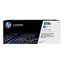 HP 508X - Hohe Ergiebigkeit - Cyan - Original - LaserJet - Tonerpatrone (CF361X)
