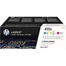 HP Color LaserJet 410X (CF252XM) Druckkassetten, cyan+ magenta + gelb SET