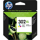 HP inktpatroon Nr. 302XL color (F6U67AE)