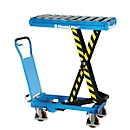 Hubtisch 300 kg inkl. abnehmbarem Rolleraufsatz