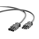 Hüdig+Rocholz netaansluitkabel systeem Flex, voor werkplekverlichting, 3000 mm
