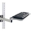 Hüdig+Rocholz toetsenbord- en muishouder met knikarm systeem Flex, in hoogte verstelbaar