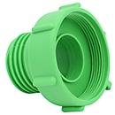 IBC-adapter van 75 mm fijn schroefdraad naar 2 inch DN 50 grof schroefdraad