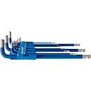 Inbussleutel-set Projahn, 9-delig, voor binnen-6kant 1,5-10 mm, lang, S2-staal blauw