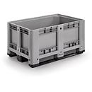 Industriebox, met 3 sledes, 330 liter