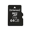 Intenso - Flash-Speicherkarte - 64 GB - microSDXC