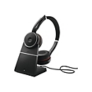 Jabra Evolve 75 MS Stereo - Headset - mit Ladestation