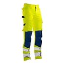 Jobman 2378 PRACTICAL, Hi-Vis, EN ISO 20471 klasse 2, geel I donkerblauw, 42