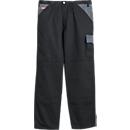 KANSAS® broek met tailleband Color, zwart/grijs, m. 44