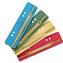 Kartonnen hechtstroken, A5, diverse kleuren, 200 st.