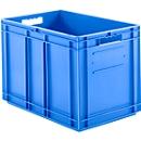 Kasten im EURO-Maß EF 6420, ohne Deckel, 83,8 l, blau
