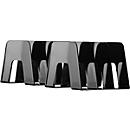 Katalogsammler SORTER, Breite 209 mm, Kunststoff, 2 Stück, schwarz