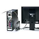 Kensington slot voor randapparatuur K64615EU, voor desktop PC en bijbehorende apparatuur, kabel 2,4 m