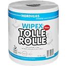 Keukenrol Wipex Tolle Rolle, 2-laags, wit, 447 vellen per rol, 6 rollen per doos