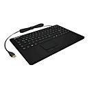KeySonic KSK-5230IN - Tastatur - mit Touchpad - Deutsch - Schwarz