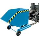 Kiepbak met wielen type KW-ET 1000, blauw