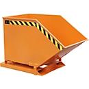 Kiepcontainer KK 400, oranje (RAL 2000)