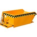 Kippbehälter Bauer Mini Typ MGU 230, 350 mm Schüttkantenhöhe, orange