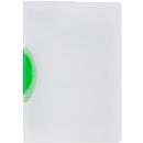 Klemmhefter Kolma Easy Plus Ergo, A4, KolmaFlex, transparent, grün