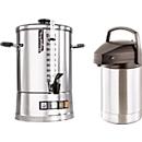 Koffiemachine Hogastra® CNS 100 + pomp-thermoskan, gratis