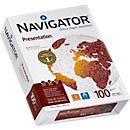 Kopierpapier Navigator Presentation, DIN A4, 100 g/m², hochweiß, 1 Paket = 500 Blatt