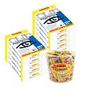 Kopierpapier Schäfer Shop CLIP Paper@Print, DIN A4, 80 g/m², weiß, 1 Karton = 20 x 500 Blatt + GRATIS 1 Box Haribo Goldbären