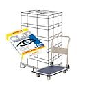Kopierpapier Schäfer Shop Paper@Print, DIN A4, 80 g/m², weiß, 1 Palette = 200 x 500 Blatt + GRATIS Plattformwagen