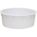 Kuip van kunststof, geschikt voor levensmiddelen, stapelbaar, 110 liter, naturel