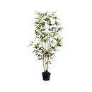 Kunstplant PAPERFLOW bamboe, groen, van PE, incl. kunststof pot, H 1600 mm