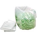 Kunststof afvalzakken voor versch. papierversnipperaars, 100/116 l