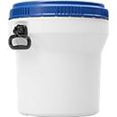 Kunststof vat CurTec, met schroefdeksel, HDPE, nestbaar, waterdicht, 30 l