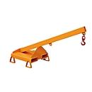Lastarm für Gabelstapler, LA 25-1,0, orange RAL 2000