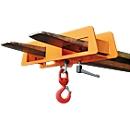 Lasthaken LH 2, 2500 kg Tragkraft, orange lackiert