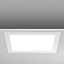 Led-inbouw-/aanbouwlamp Toledo Flat, 300 x 300 x 23 mm, 230/2150 watt/lumen