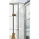 Led-railverlichting voor BST vitrines met aluminium profiel, 4 spots, 4x 4,5 W power-leds